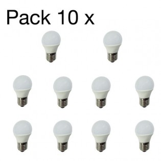 Pack 10 x Bombillas LED 4W E27