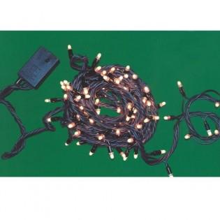 Guirnalda microlámparas LED blancos (exterior)