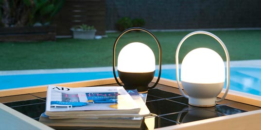 Outdoor lighting and lamps