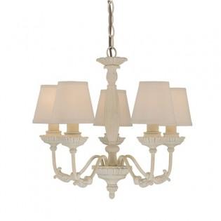 Colgante romántico Ives (5 luces)