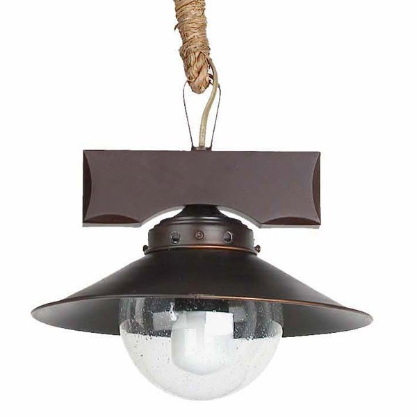Lámpara naútica Nudos. Faro Barcelona. Comprar lámparas online.