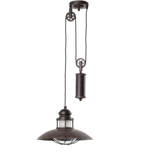 Lámpara naútica polea Winch. Faro Barcelona. Comprar lámparas online.