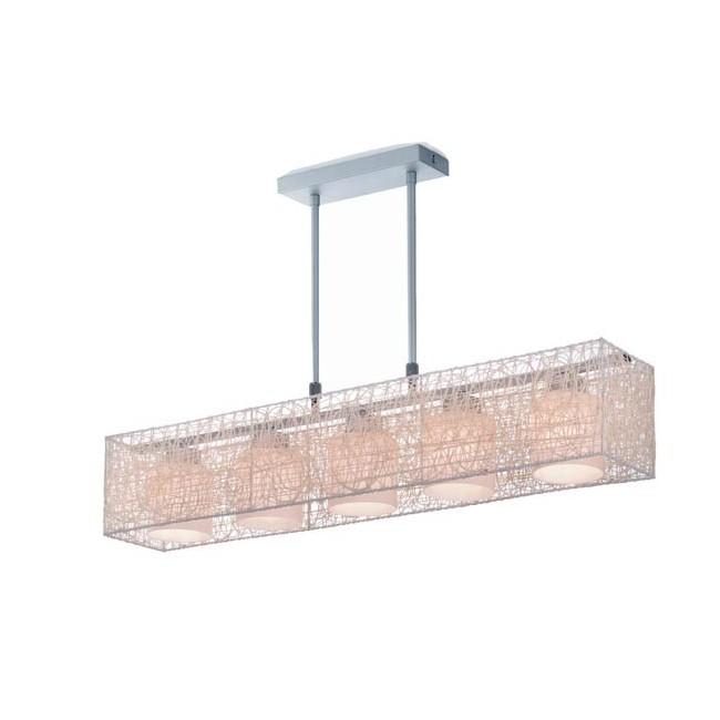 Lámpara Alexandra crema (5 luces)