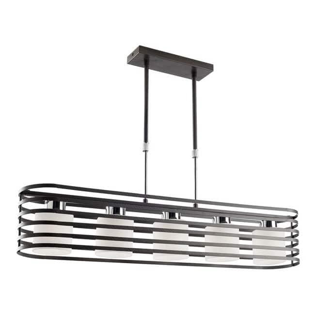Lámpara Cell 2 wengué (5 luces)