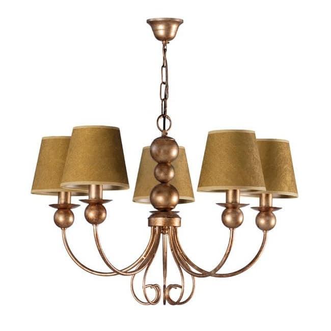 Lámpara clásica Duni (5 luces)