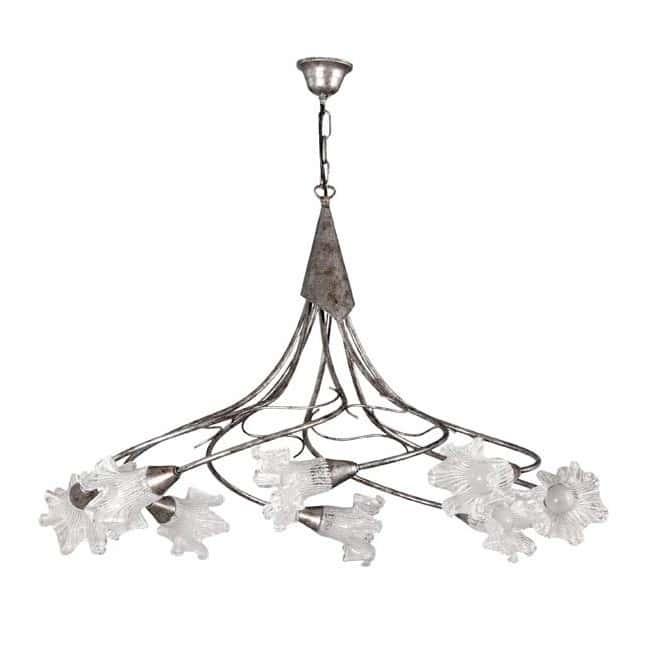 Lámpara rústica Zarina (8 luces)