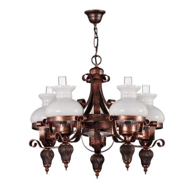 Lámpara Tortosa (5 luces)