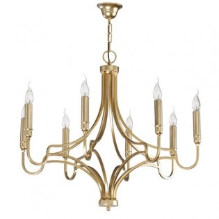 Lámpara clásica Finis (8 luces)