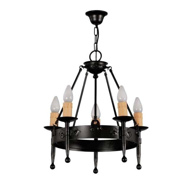 Lámpara rústica Hipa (5 luces)
