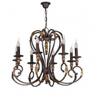 Lámpara araña Irina (8 luces)
