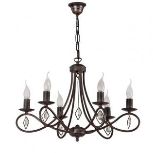 Lámpara clásica Maver (6 luces)