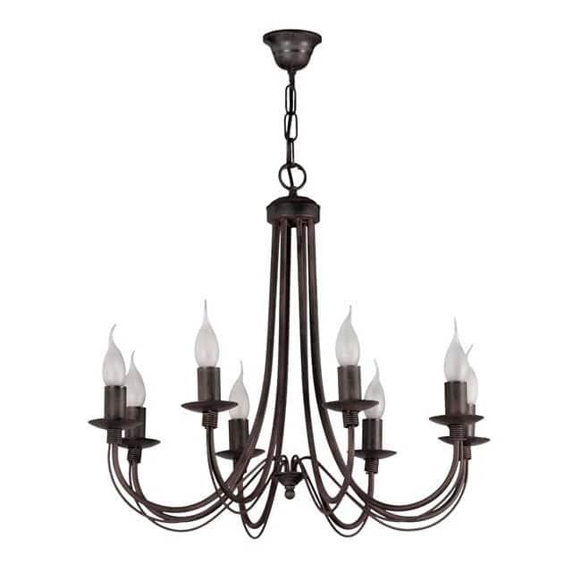 Lámpara clásica Mito (8 luces)
