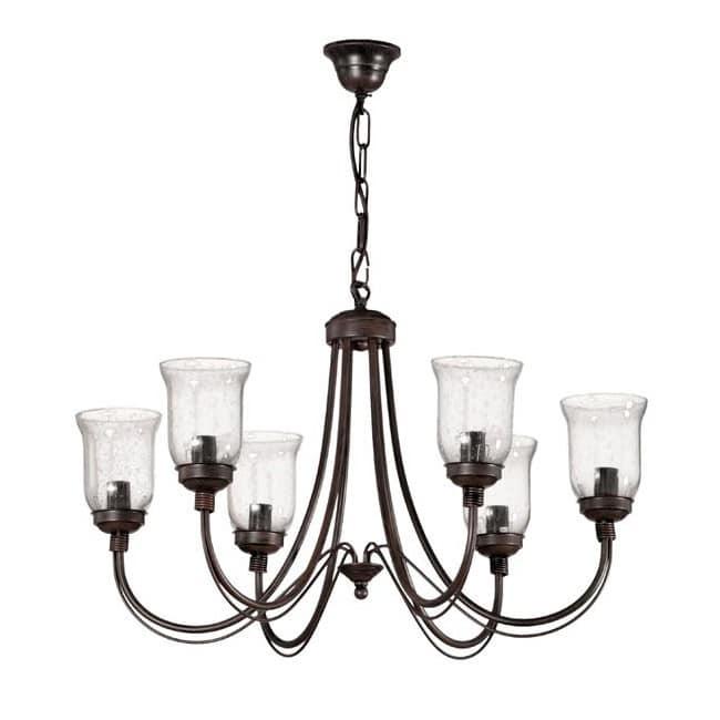 Lámpara clásica Moka (6 luces)