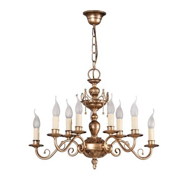 Lámpara clásica Musa (10 luces)