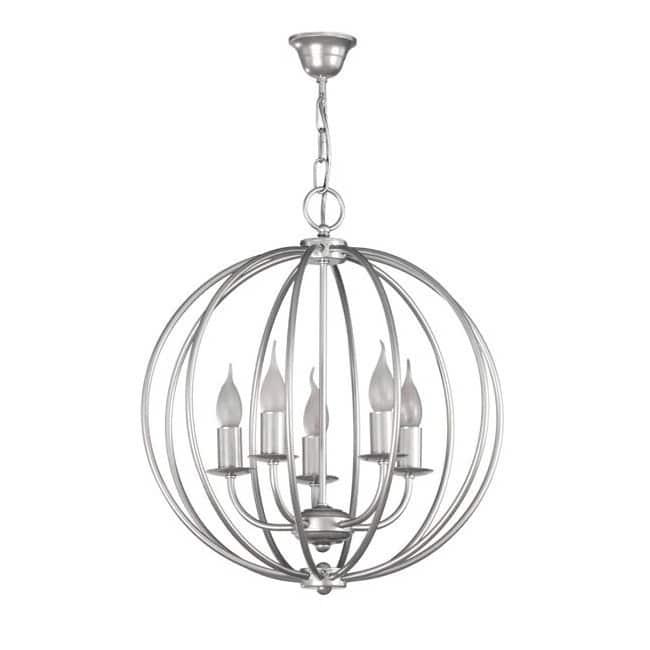 Lámpara rústica Nalo (5 luces)