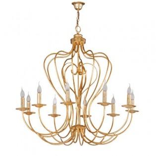 Lámpara clásica Oslam (10 luces)