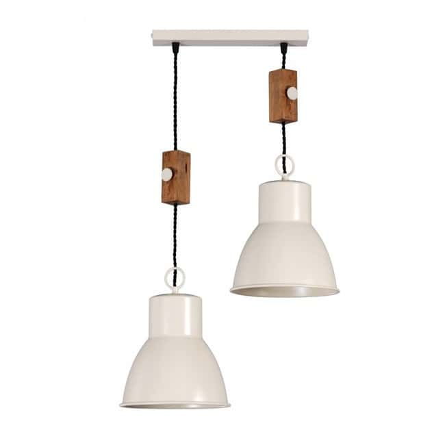 Lámpara industrial Solim (2 luces)