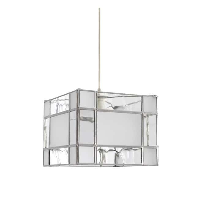 Lámpara Opal Sirrah (plata)