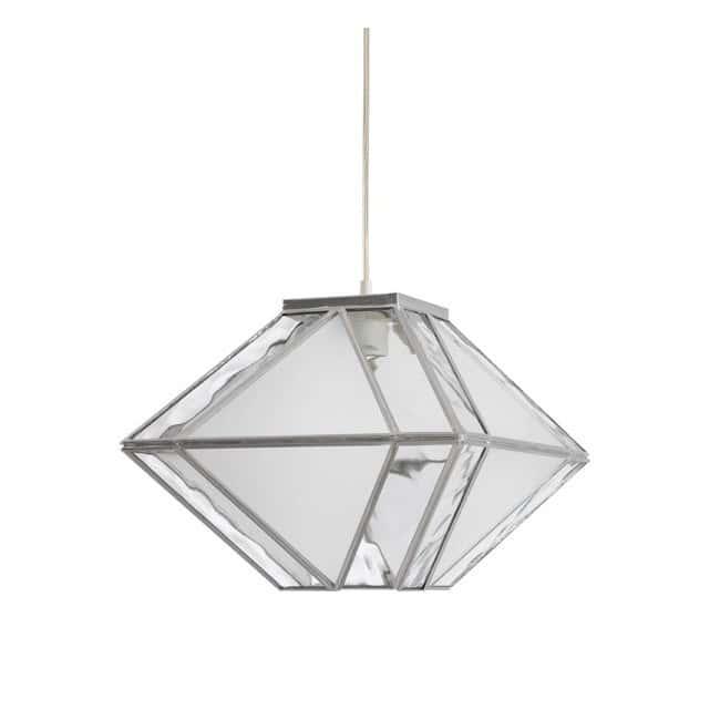 Lámpara Opal Caroli (plata)