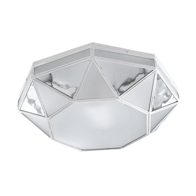 Plafón Opal Apodis (plata)