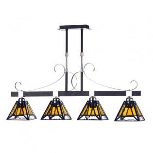 Lámpara de techo Gabela (4 luces)