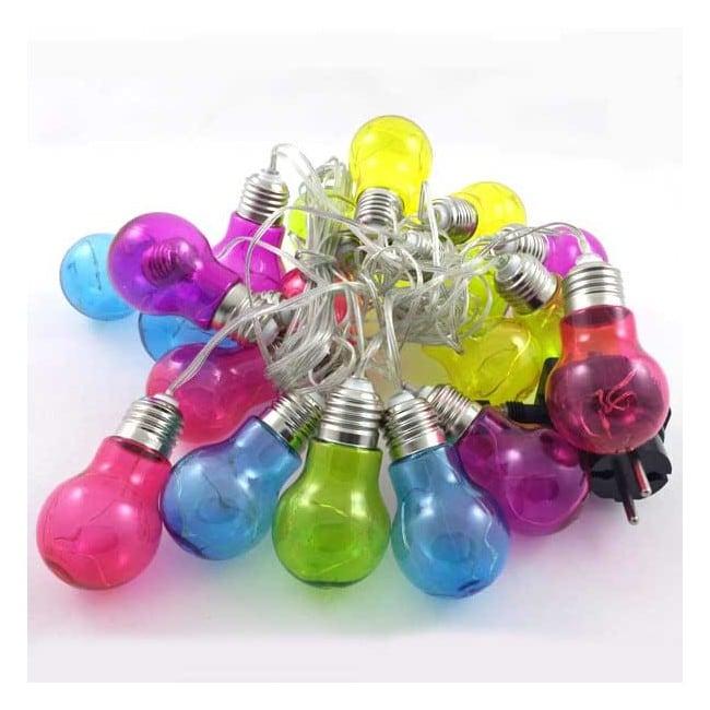 Guirnalda Led 20 bombillas de colores (0.8W)