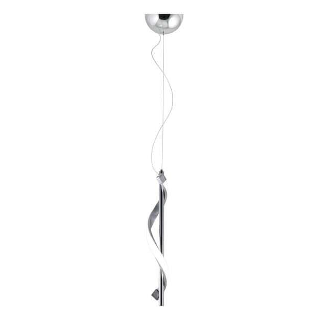Lámpara colgante cromo Led Stefany (9W)