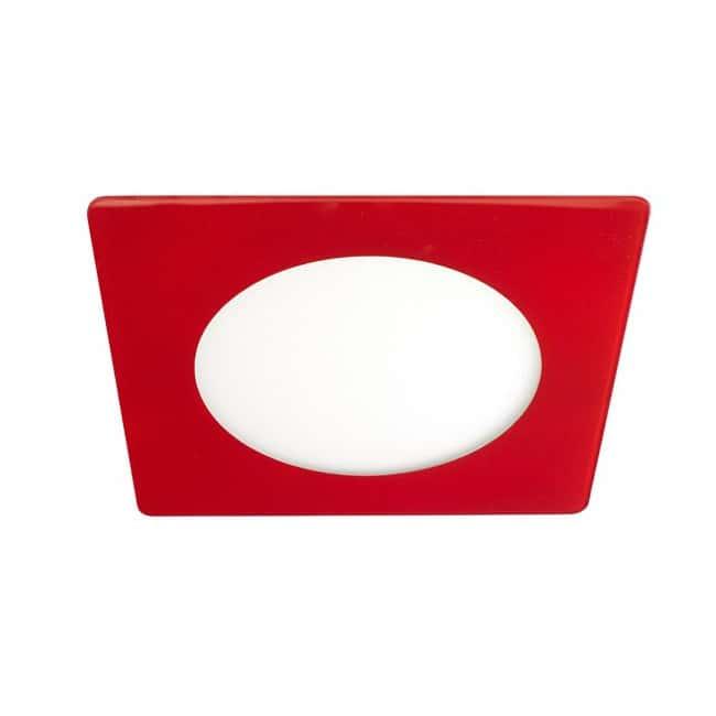 Downlight LED Extraplano cristal 20W (rojo) - Wonderlamp