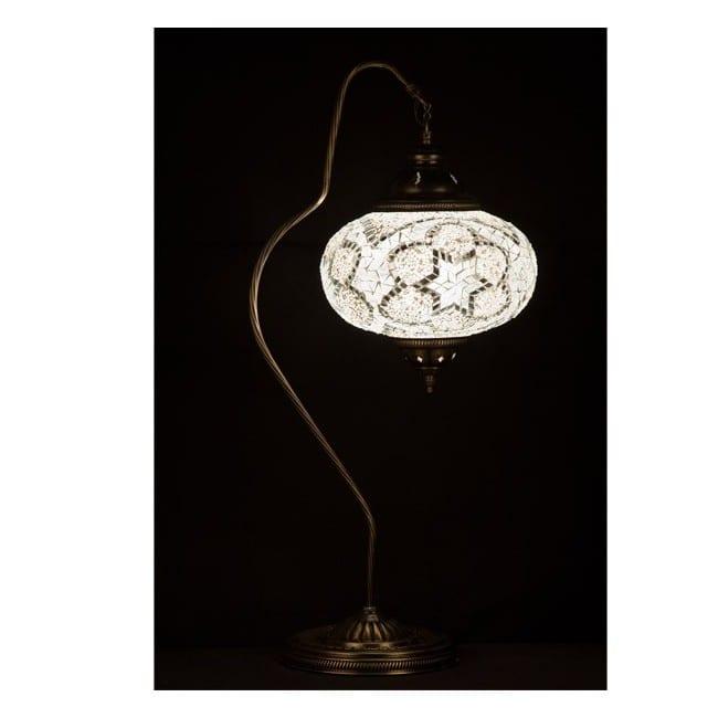 Lámpara Turca Kugu24 (blanco)
