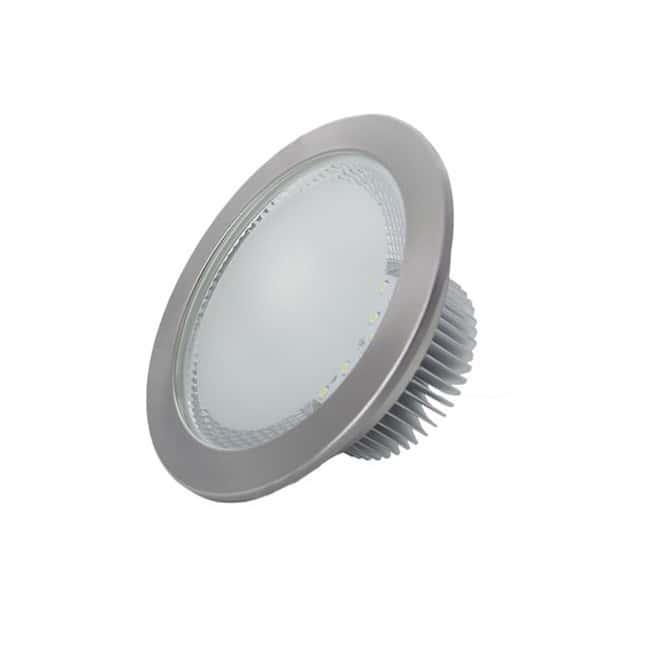 Downlight LED 12W Níquel Epistar SMD