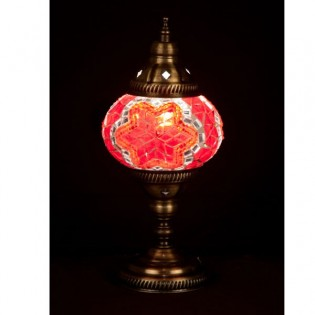 Lámpara Turca Buro10 (rojo)
