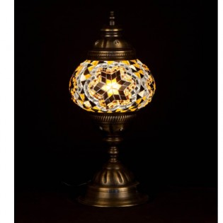 Lámpara Turca Buro15 (amarillo)