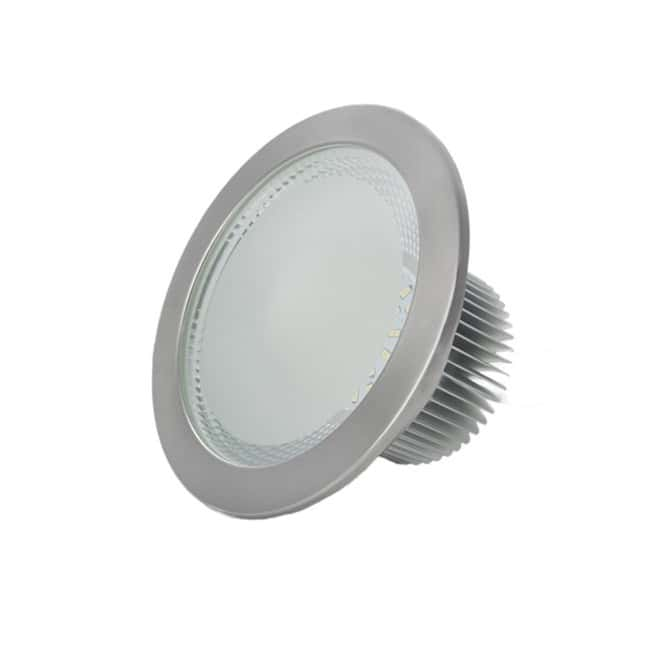 Downlight LED 18W Níquel Epistar SMD