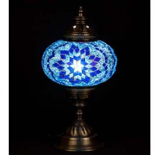Lámpara Turca Buro16 (azul)