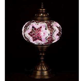 Lámpara Turca Buro16 (rosa)