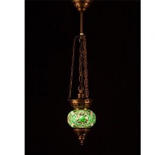 Lámpara Turca KolyeIII11 (verde)