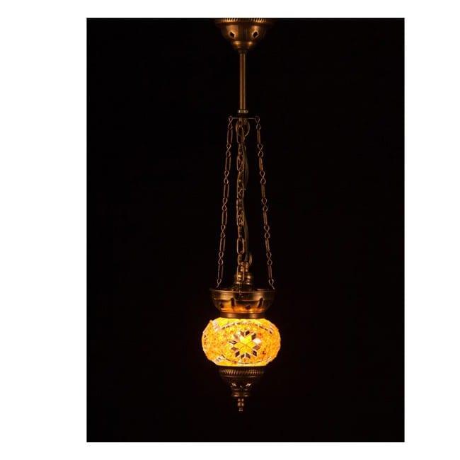 Lámpara Turca KolyeIII11 (ámbar)