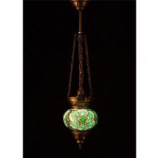 Lámpara Turca KolyeIII13 (verde)