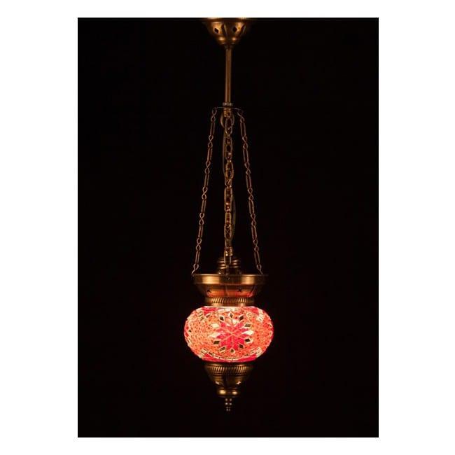 Lámpara Turca KolyeIII13 (rojo)