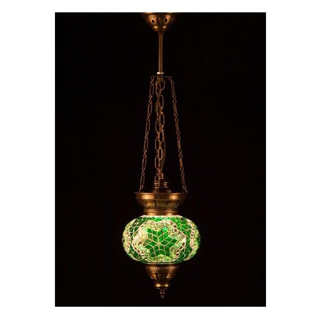 Lámpara Turca KolyeIII16 (verde)
