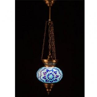 Lámpara Turca KolyeIII16 (azul)