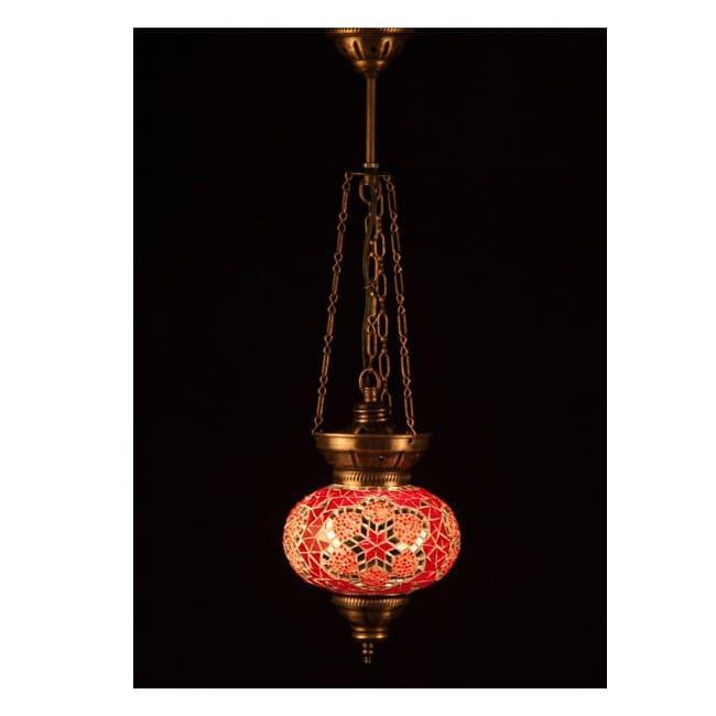 Lámpara Turca KolyeIII16 (rojo)