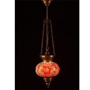 Lámpara Turca KolyeIII16 (naranja)