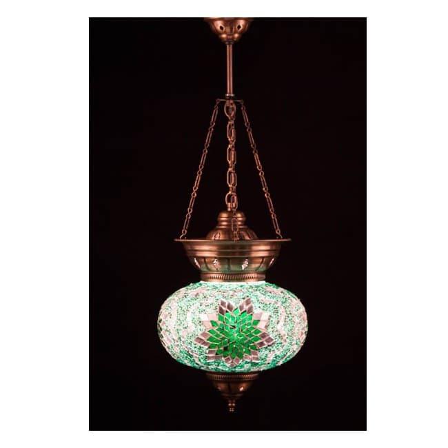 Lámpara Turca KolyeIII25 (verde)