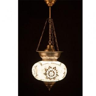 Lámpara Turca KolyeIII25 (blanco)