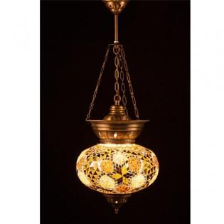 Lámpara Turca KolyeIII25 (amarillo)