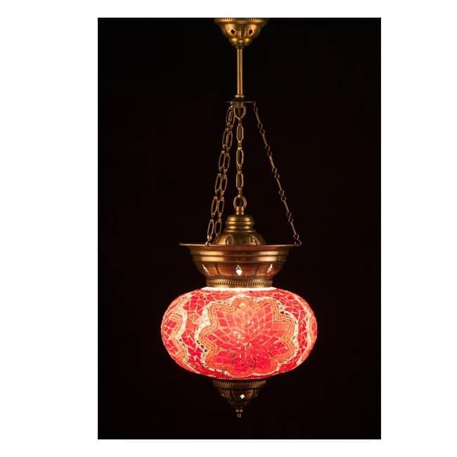 Lámpara Turca KolyeIII25 (rojo)