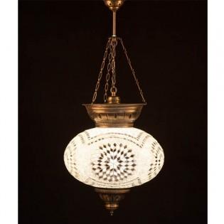 Lámpara Turca KolyeIII34 (blanco)
