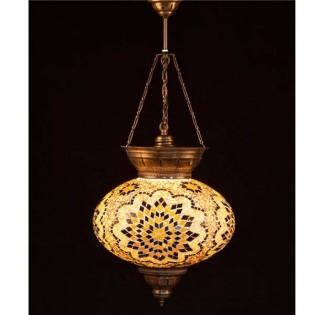 Lámpara Turca KolyeIII34 (amarillo)