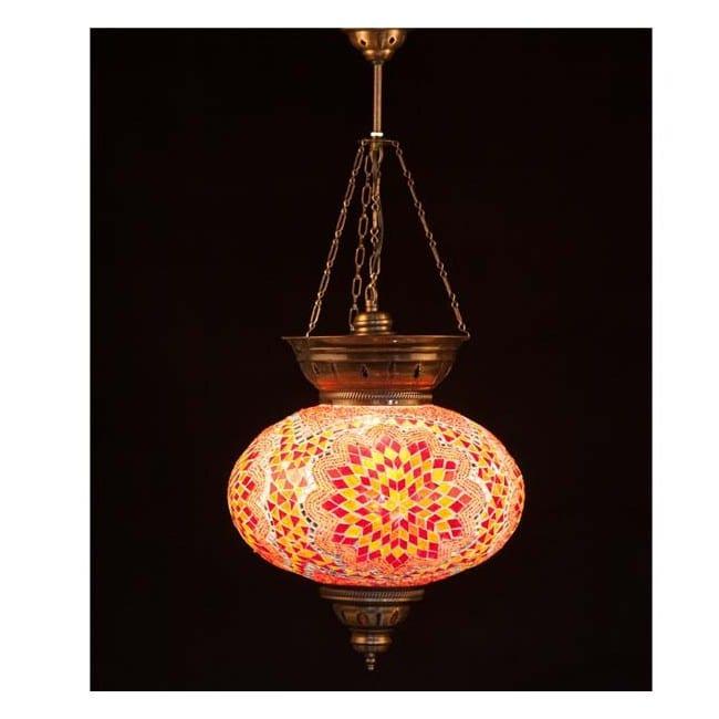Lámpara Turca KolyeIII34 (naranja)